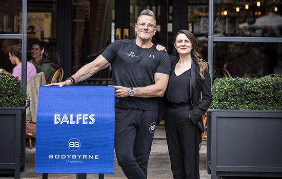 Keep in shape with Balfes and Body Byrne